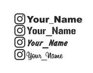 ваш ник Instagram