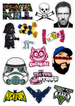Sticker List №9