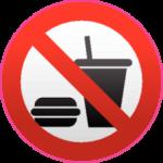 Еда и напитки запрещены