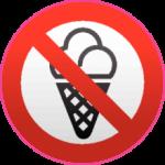 C мороженым запрещено