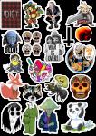 Sticker List №21