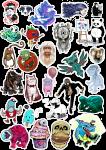 Sticker List №25