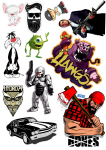 Sticker List №1