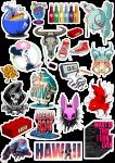 Sticker List №30