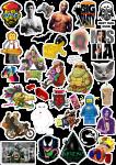 Sticker List №32