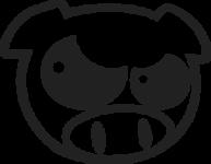 Subaru Pig Angry