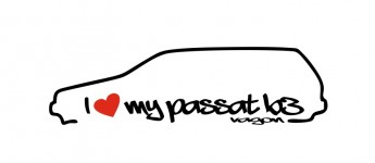 love passat b3 vagon