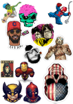Sticker List №2