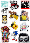 Sticker List №3