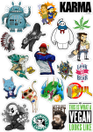 Sticker List №53