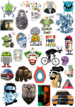 Sticker List №72