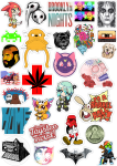 Sticker List №74