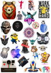 Sticker List №75