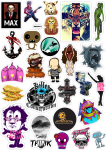 Sticker List №83