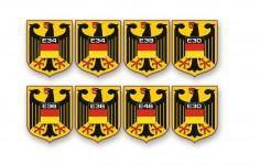 немецкий герб на крылья