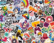 StickerBomb beatch