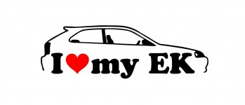 i love my ek