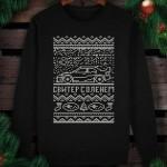 Свитшот утепленный (свитер с оленем) SUBARU
