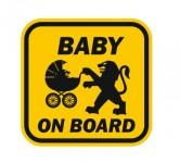 Baby on board Peugeot