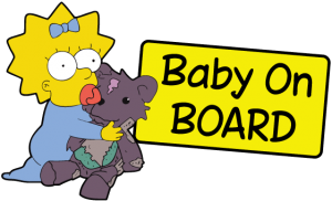 Baby on board 3