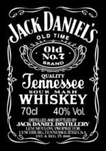 Jack Daniel's (на черном фоне)