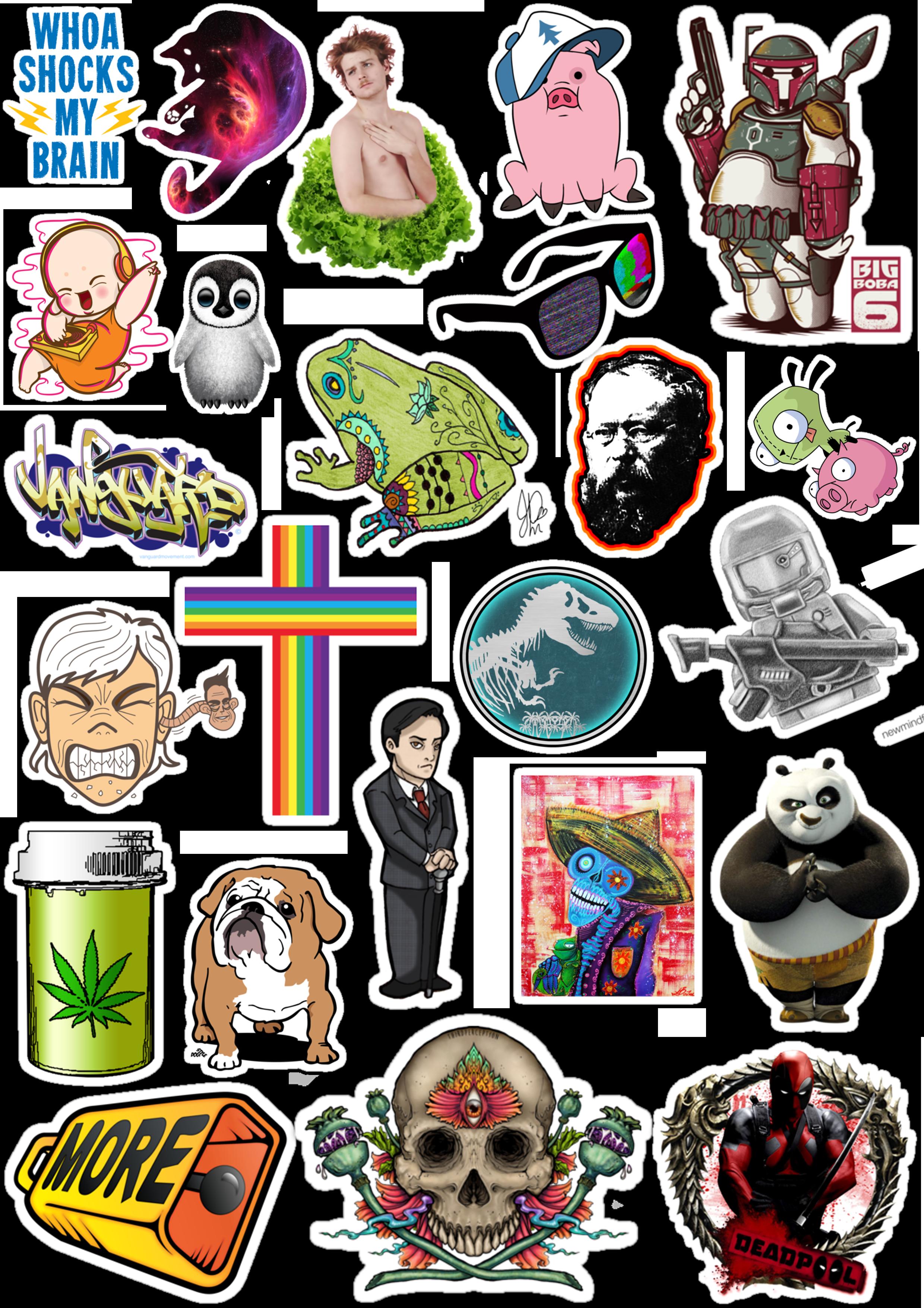 Sticker List №55