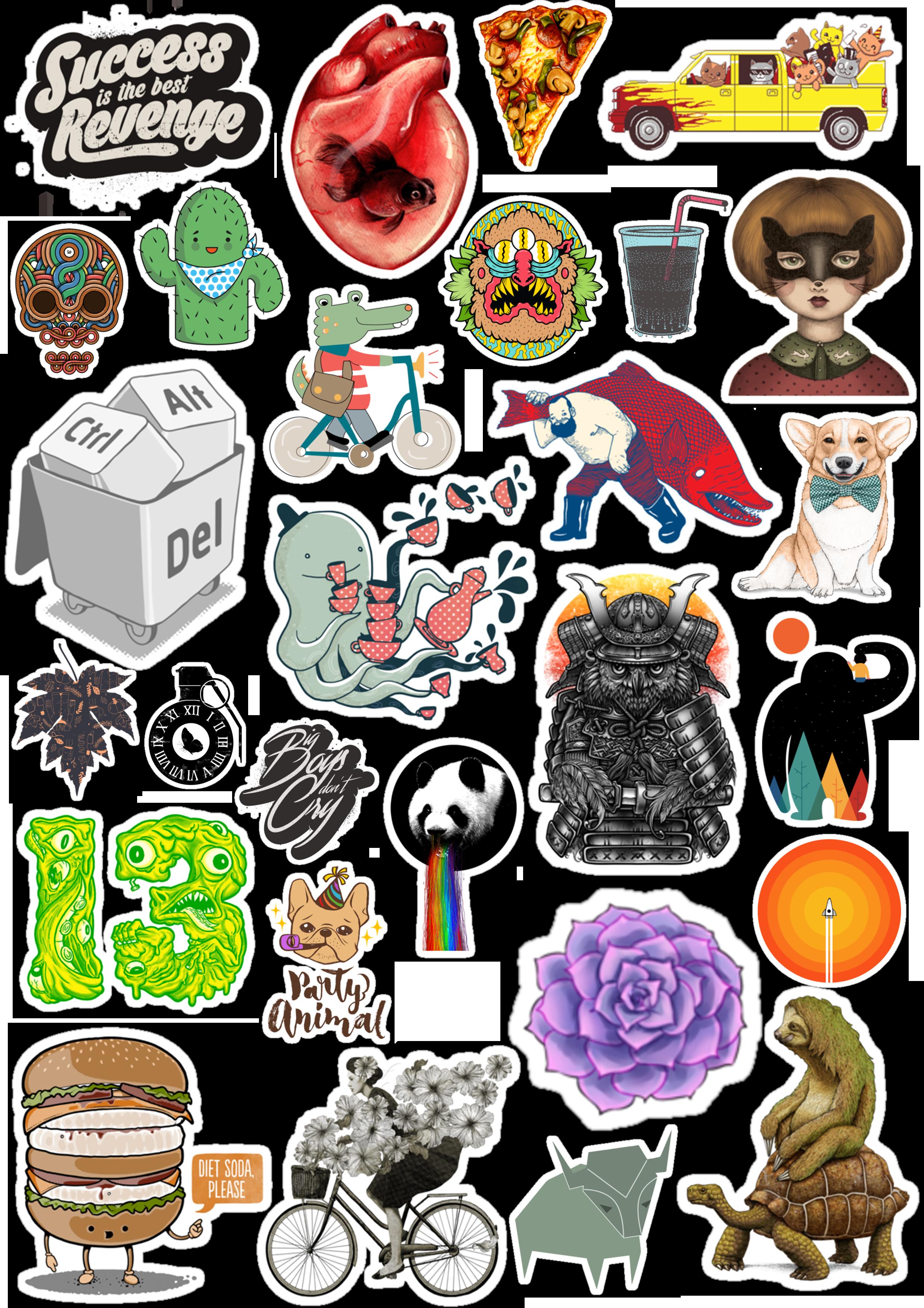 Sticker List №70