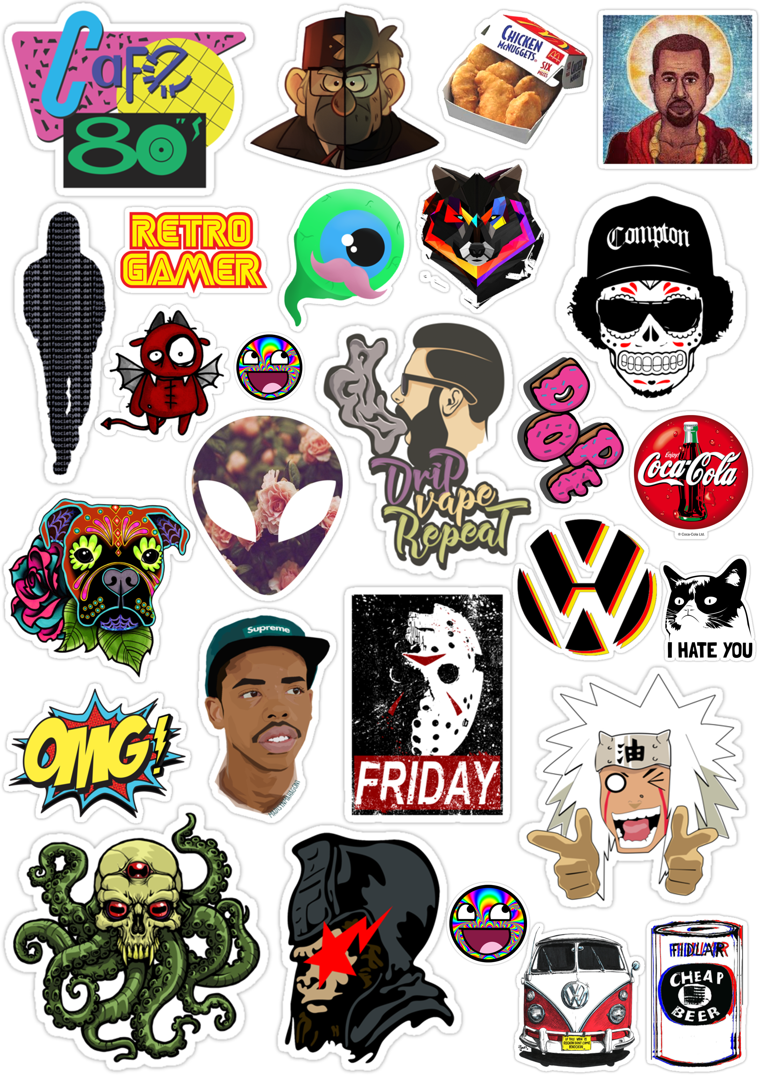 Sticker List №79