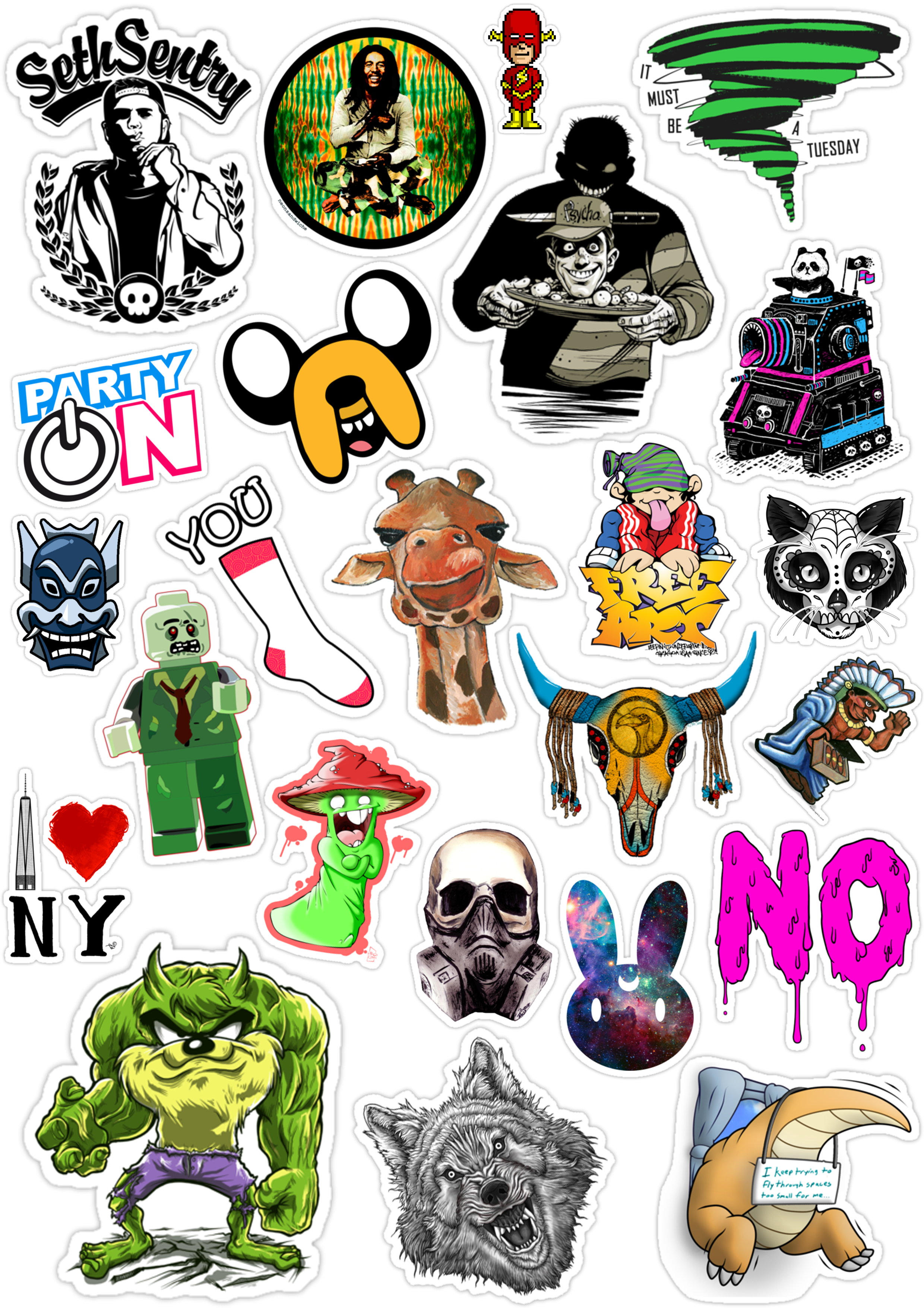 Sticker List №82
